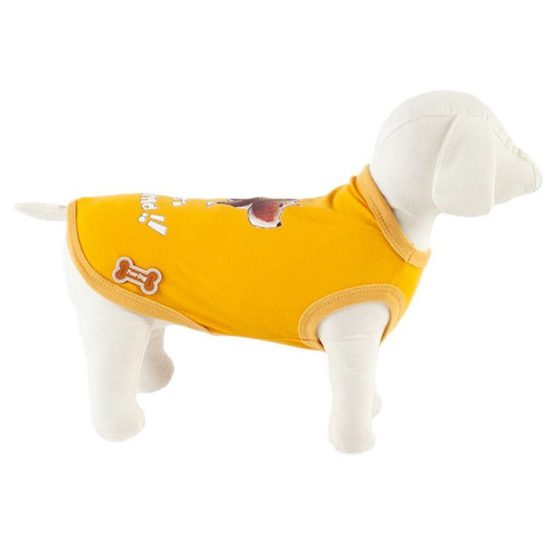 t-shirt-best-friends-fuss-dog-yellow