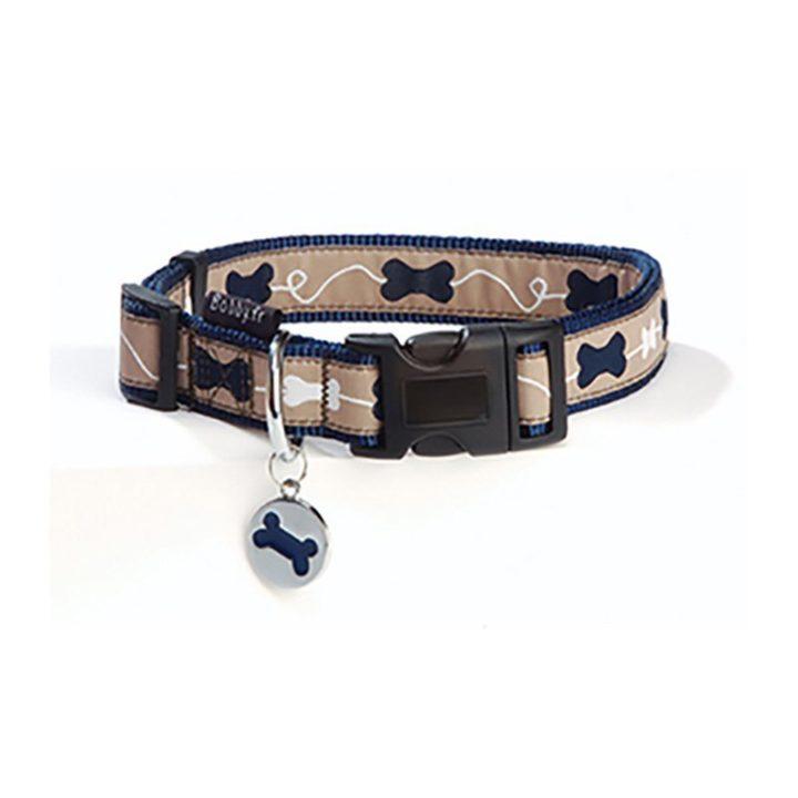 bobby-collar-kyrielle-nylon-azul